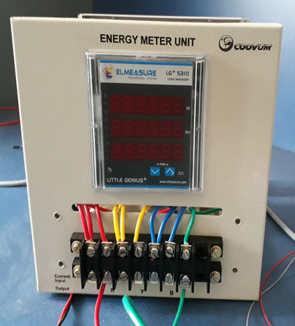Energy Meter Monitoring Over Iot